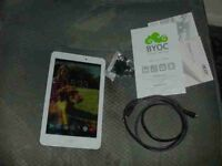 boxed acer iconia one 8 tablet + charging cable books £30 vgc pwo