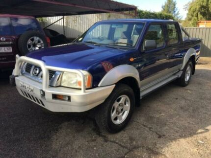 2002 Nissan Navara D22 ST-R (4x4) Blue 5 Speed Manual Dual Cab Pick-up Jewells Lake Macquarie Area Preview