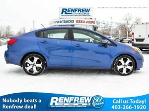 2014 Kia Rio SX, Heated Leather, Backup Camera, Bluetooth, Push