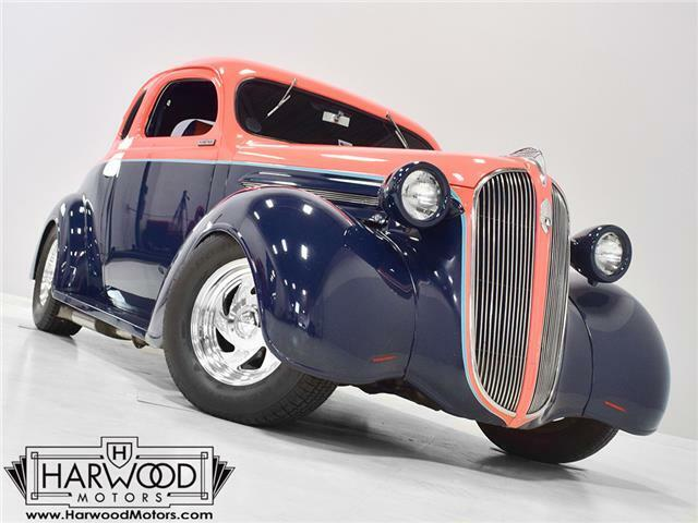 1937 Plymouth Business Coupe  1937 Plymouth Business Coupe  6234 Miles Salmon over Navy Blue  392 cubic inch H