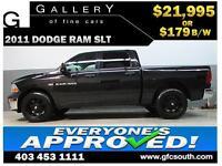 2011 DODGE RAM HEMI CREW *EVERYONE APPROVED* $0 DOWN $179/BW!