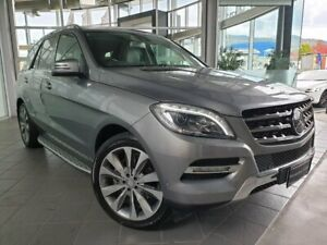 2012 Mercedes-Benz M-Class W166 ML350 BlueTEC 7G-Tronic + Silver 7 Speed Sports Automatic Wagon North Hobart Hobart City Preview