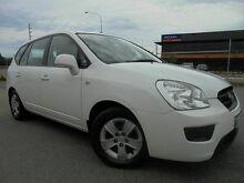 2010 Kia Rondo UN MY10 LX White 4 Speed Automatic Wagon Victoria Park Victoria Park Area Preview