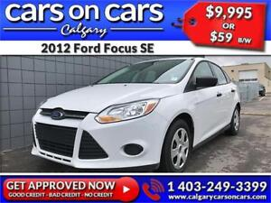 2012 Ford Focus SE $0 DOWN, $69 B/W! APPLY NOW!