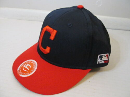 OC Sports Youth MLB Cleveland Indians Hat Cap, One Size