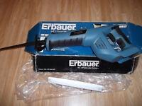 ERBAUER 18 volt reciprocating saw