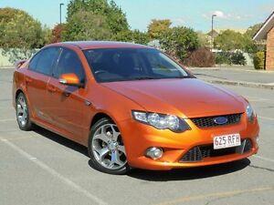 2010 Ford Falcon FG XR6 50th Anniversary Orange 6 Speed Sports Automatic Sedan Chermside Brisbane North East Preview