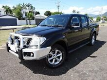 2013 Nissan Navara D40 MY12 ST (4x4) Black 5 Speed Automatic Dual Cab Pick-up Bungalow Cairns City Preview
