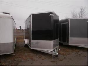 Enclosed Aluminum Trailer 7X12