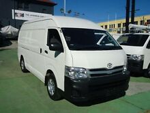 2012 Toyota Hiace TRH221R MY12 Upgrade SLWB White 4 Speed Automatic Van Canada Bay Canada Bay Area Preview