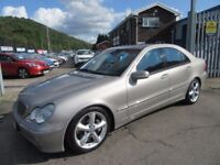 Mercedes C220 CDI AVANTGARDE SE (silver) 2003