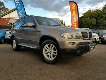 2005 BMW X5 E53 3.0I Gold 5 Speed Auto Steptronic Wagon Mount Hawthorn Vincent Area Preview