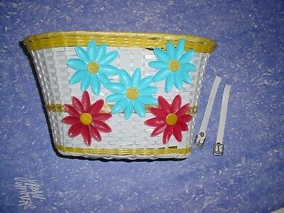 (BICYCLE BASKET FOR GIRLS BIKES SCHWINN & OTHERS NEW )
