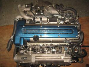 TOYOTA SUPRA LEXUS IS300 2JZGTE ENGINE JDM 2JZ MOTEUR ARISTO