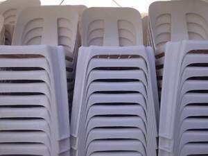 Plastic Stackable Bistro Chairs Hurlstone Park Canterbury Area Preview