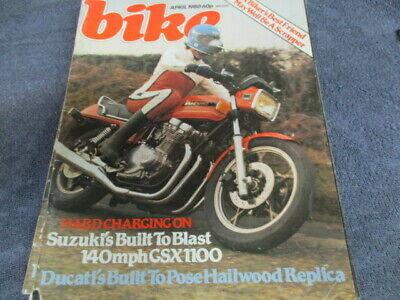 Bike magazine,apr 1980,bmw,honda,yamaha,suzuki,kawasaki,ducati,triumph,ogri :)