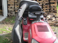 bagger for lawn tractor