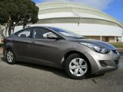2012 Hyundai Elantra MD Active Bronze Gold 6 Speed Automatic Sedan Gepps Cross Port Adelaide Area Preview