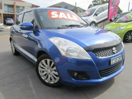 2012 Suzuki Swift FZ RE.2 Blue 5 Speed Manual Hatchback Greenacre Bankstown Area Preview