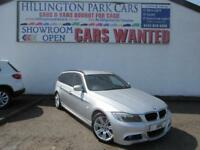 2011 BMW 318 2.0TD auto d M Sport Touring, PRIVACY GLASS, FAMILY ESTATE