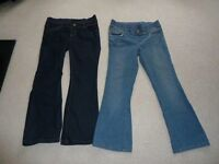 Boot-Cut Maternity Jeans Size 12