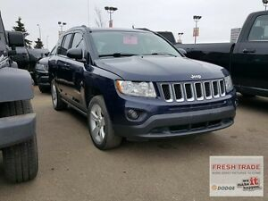 2013 Jeep Compass NORTH/ 4X4/ AUTOMATIC/ LADY OWNED AND DRIVEN Edmonton Edmonton Area image 3