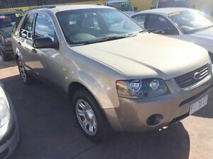 2006 Ford Territory Gold 4 Speed Automatic Wagon North Hobart Hobart City Preview