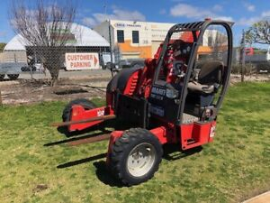Forklift Manitou TMT25S All Terrain Truck Mount Malaga Swan Area Preview