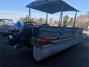 2008 SUZUKI 4 STROKE EFI 70HP POWER TRIM/TILT LONG SHAFT PONTOON