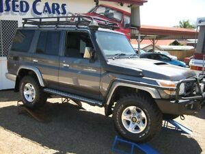 2010 Toyota Landcruiser VDJ76R GXL Grey 5 Speed Manual Wagon Woodend Ipswich City Preview