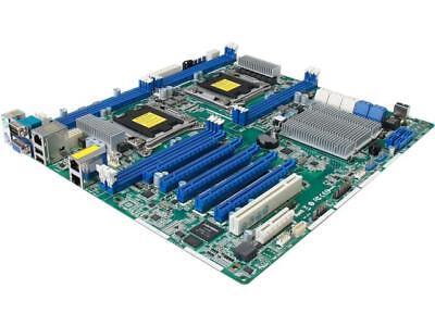 ASRock EP2C602 SSI EEB Server Motherboard Dual LGA 2011 Intel C602 Supports DDR3