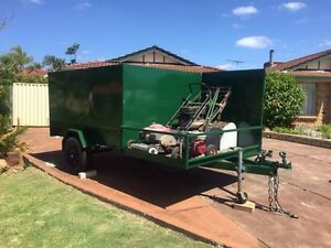 Lawn mowing trailer and full set of equipment. Canning Vale Canning Area Preview