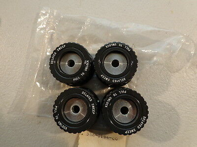 4pcs Tektronix 366-0194-00 Knob