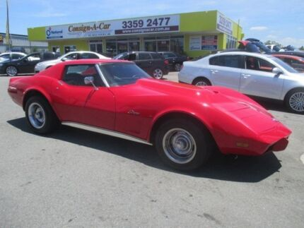1976 Chevrolet Corvette STING RAY Stingray Red 4 Speed Automatic Coupe Kedron Brisbane North East Preview
