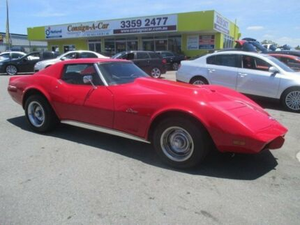 1976 Chevrolet Corvette STING RAY Stingray Red 4 Speed Automatic Coupe