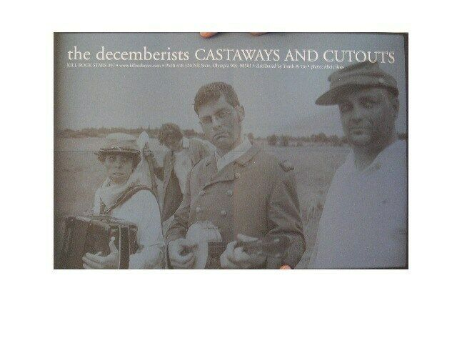 The Decemberists Poster Castaways and Cutouts