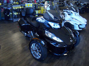 2016 Can-Am Spyder RT-Limited 6 Speed Clutchless Semi-Automatic