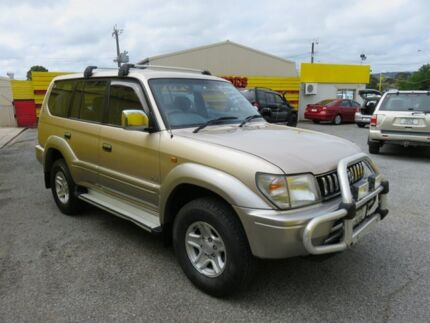 1999 Toyota Landcruiser Prado VX Grande Gold 4 Speed Automatic Wagon