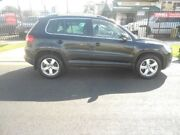 2009 Volkswagen Tiguan 5N MY10 147TSI 4MOTION Black 6 Speed Sports Automatic Wagon Blair Athol Port Adelaide Area Preview