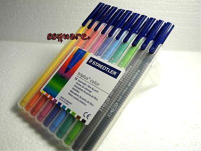 Staedtler Triplus Fineliner 1.0mm Pens 10 Colours Set