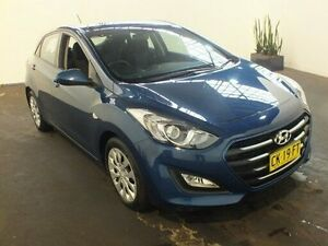 2015 Hyundai i30 GD3 Series 2 Active Blue 6 Speed Automatic Hatchback Clemton Park Canterbury Area Preview