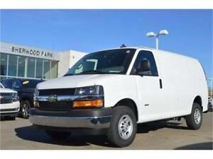 2018 Chevrolet Express Cargo Van Diesel with Only 15 KMs !!