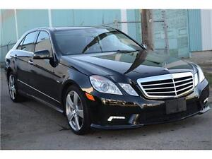 2011 E 350 4matic, Navi, Prem Pkg, 47kms, MINT!