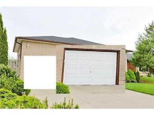 white garage door reduced price