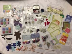 Scrapbooking/Cardmaking Embellishments & Supplies