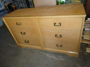 Large Solid Wood Dresser