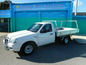 2008 Ford Ranger PJ 07 Upgrade XL (4x2) White 5 Speed Manual Cab Chassis Christies Beach Morphett Vale Area Preview