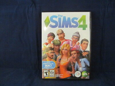 Sims 4  Pc  Windows  Mac 2014  Mint Condition  Open Box With Codes