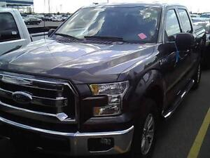 2015 FORD F150 CREW 4X4  ALUMINUM BODY LOADED XLT  44 000 KMS