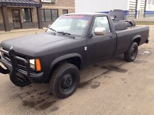 **1989 DODGE DAKOTA 4X4 FOR SALE OR TRADE**